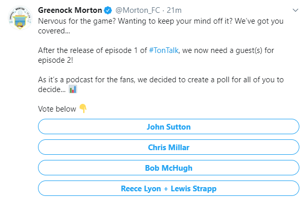 TonTalk -  The Club 'Podcast'. Screen15