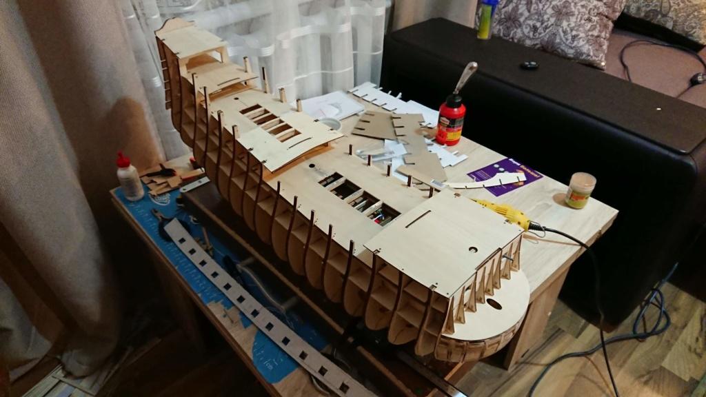 Vue d'ensemble de la construction du Soleil Royal de Deagostini 0_dsc_14