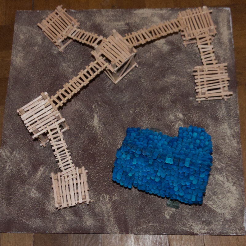 PJB's Scenery and Tabletop Terrain WIP Holzst10