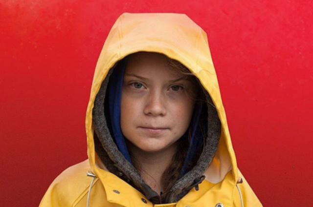 Greta Thunberg, porte parole de l'extrême gauche internationale Gretta10