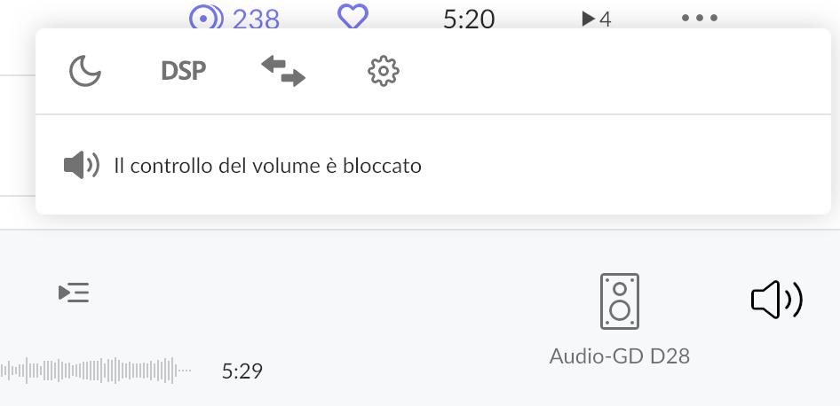 Audio-GD D28.38 da Mac - massima risoluzione DSD Scherm12