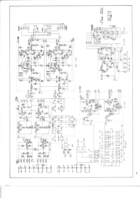 Amplificatore SCOTT A426 Schema12