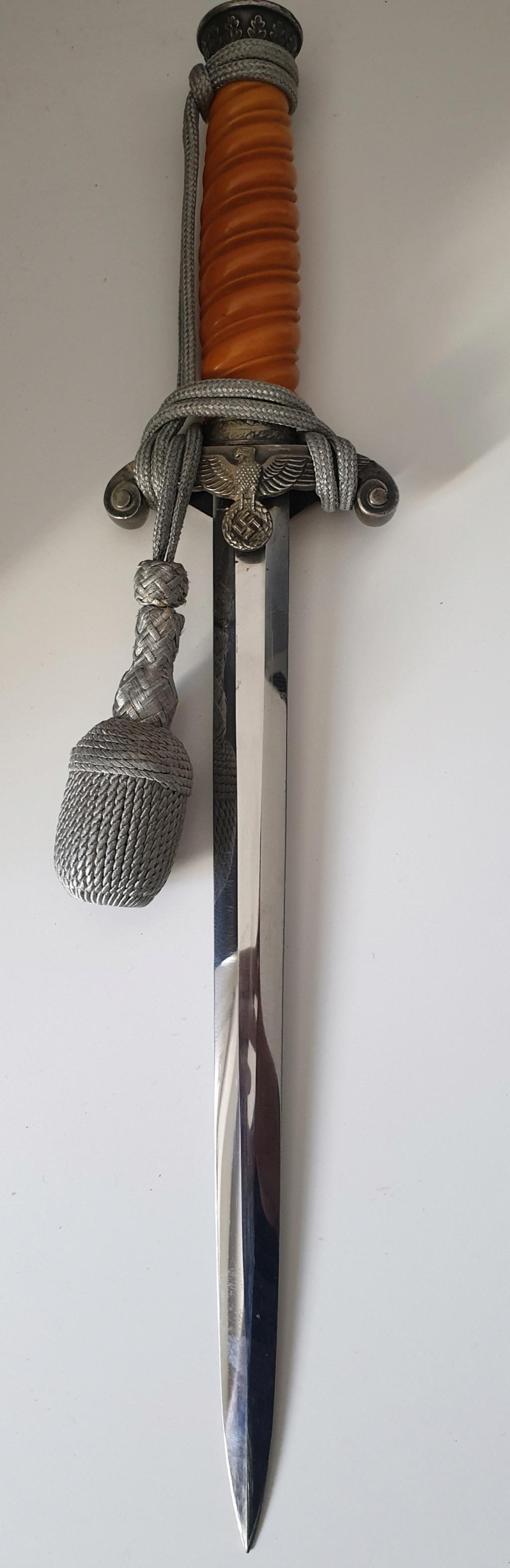 Dague wehrmacht / baïo / couteau 20200928