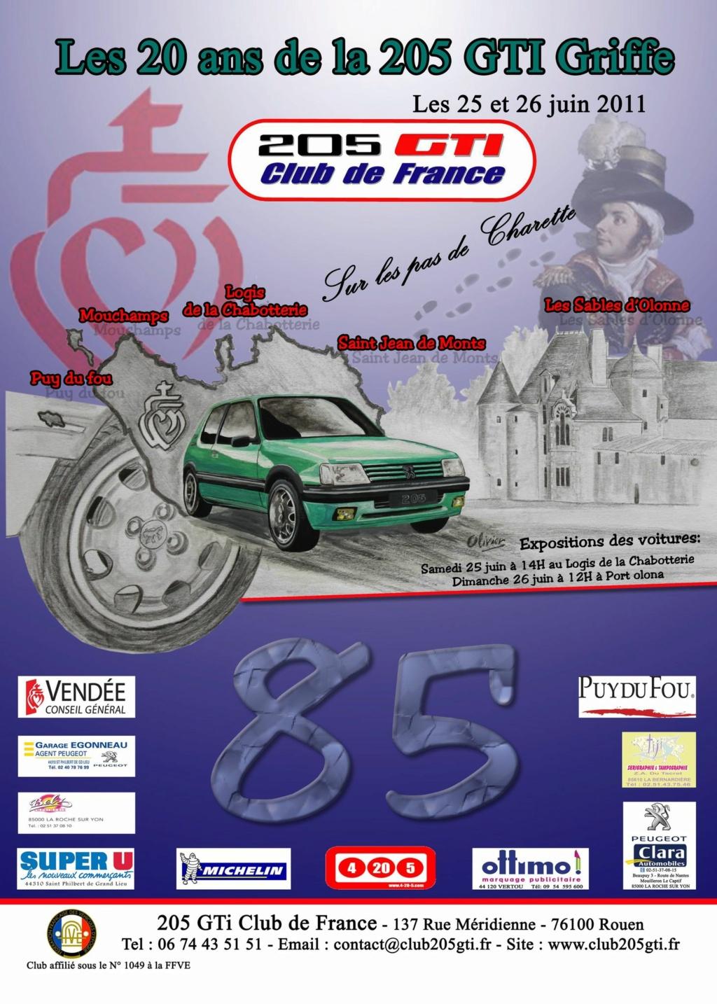 [85] Les 20 ans de la 205 GTI GRIFFE - 25 et 26 juin 2011 12612610