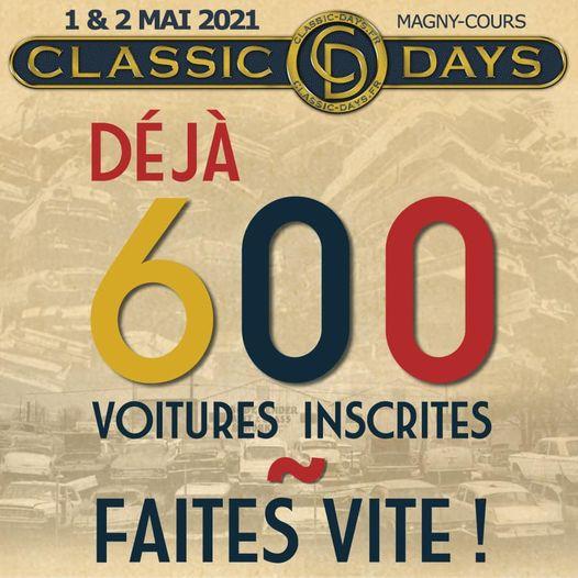 [58] Classic Days - 26 et 27 juin 2021- inscription ouverte 12958310