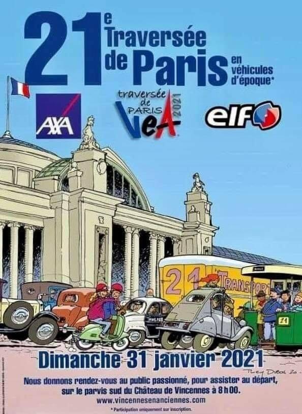 [75] TRAVERSÉE DE PARIS HIVERNALE 31 janvier 2021 13555610
