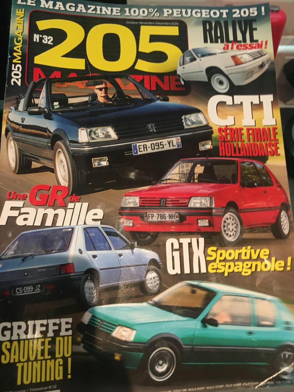 La 205 GTI en Presse 13907210