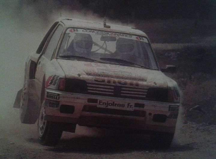 205 TURBO 16 groupe B client 14053910