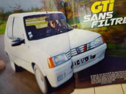 La 205 GTI en Presse 15024410