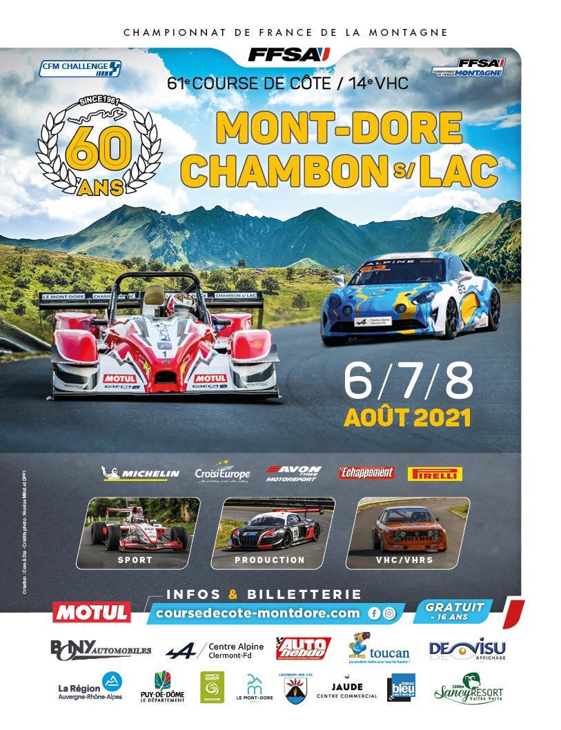 [63]  Course de côte du Mont Dore -  6/8 Aout 2021  22186310