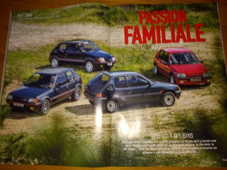 La 205 GTI en Presse 22612810