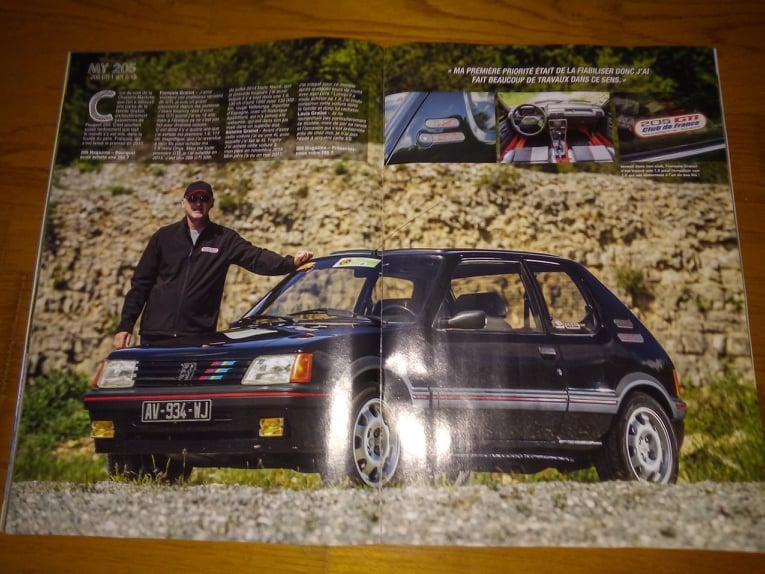 La 205 GTI en Presse 22965810