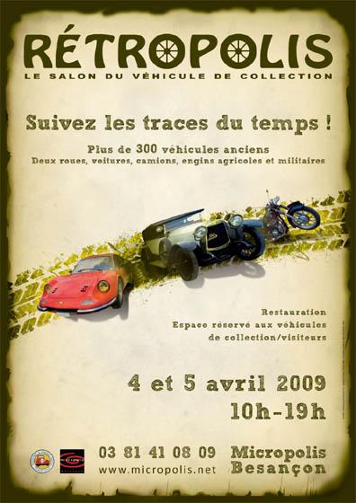 [25] Salon Rétropolis Besançon - 4 et 5 Avril 2009 Affich16