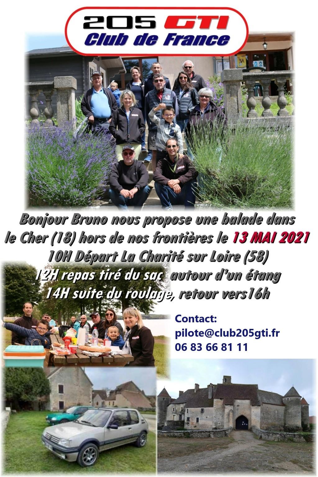 [58 18]  Balade Régional dans le CHER -  13 Mai 2021 photo et vidéo page 1et 2 Balade11