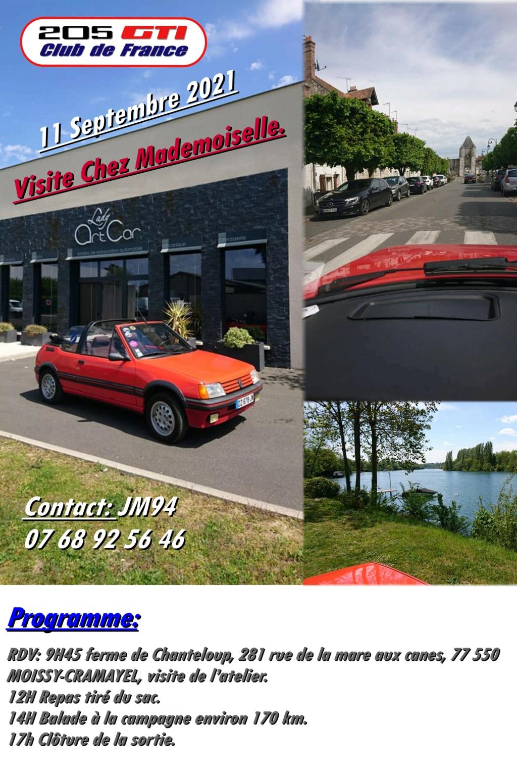 "[77 94] Visite chez ""Mademoiselle""  - 11 Septembre 2021 Balade13"
