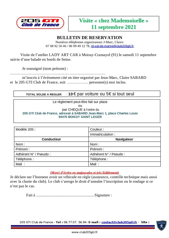 """[77 94] Visite chez """"Mademoiselle""""  -25 Septembre 2021 Bullet11"""