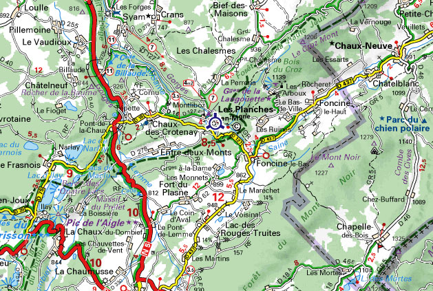 [39] La Montagne Jurassienne - 16 et 17 juillet 2011 Carte_10