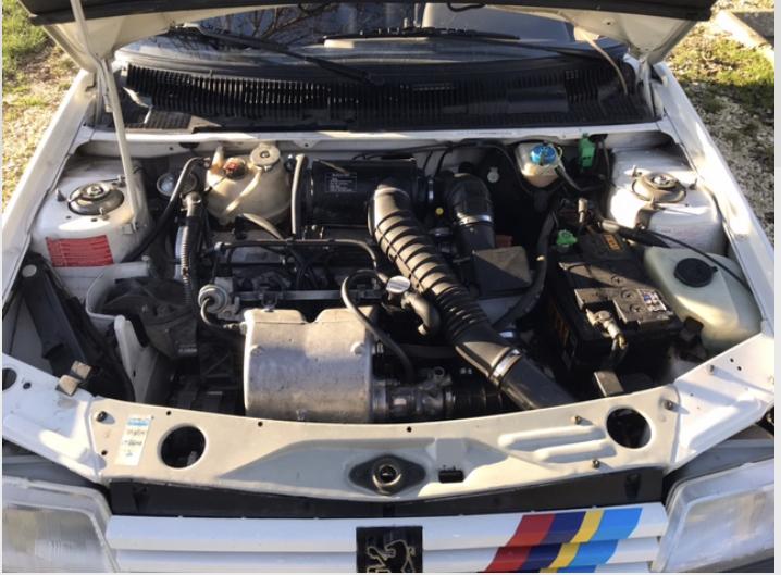 [58] 205 GTi 1.9 - 130cv - AM88 - Blanc Meije  Image010