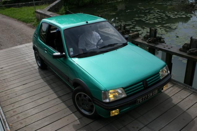 [58] 205 GTi Griffe - 130cv - AM91 - Vert Fluorite Img52510