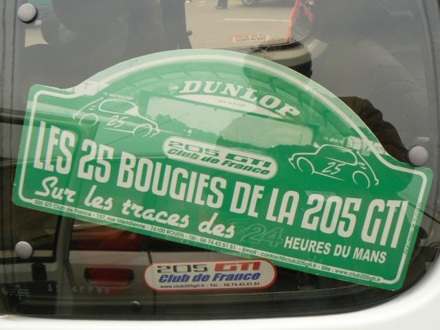 [72] les 25 ans de la 205 GTI - le mans- 21-22 février 2009 P1100010