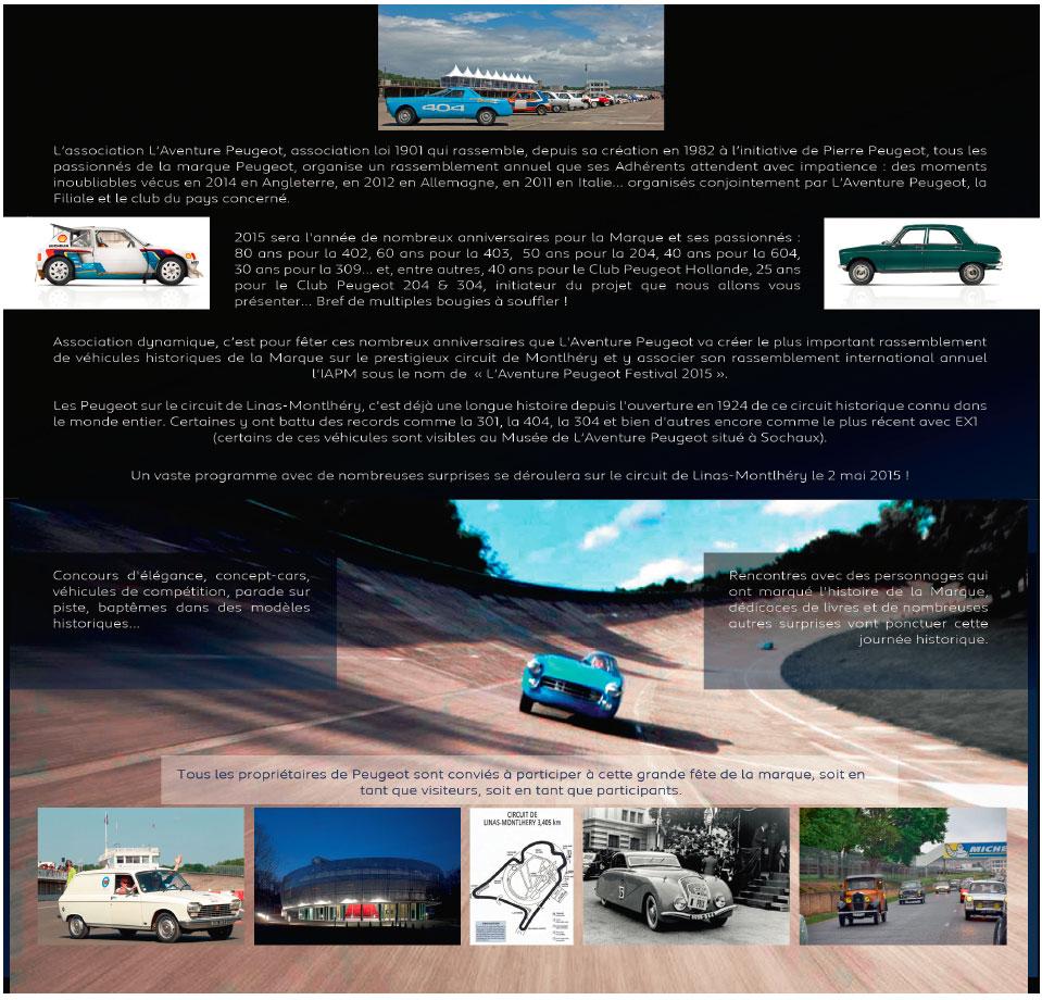[91] CILM3 (Aventure Peugeot Festival) - 2 mai 2015 Peugeo10