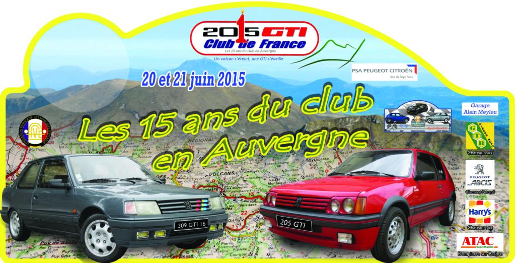 [63] Les 15 ans du club en Auvergne - 20 et 21 juin 2015 Plaque11