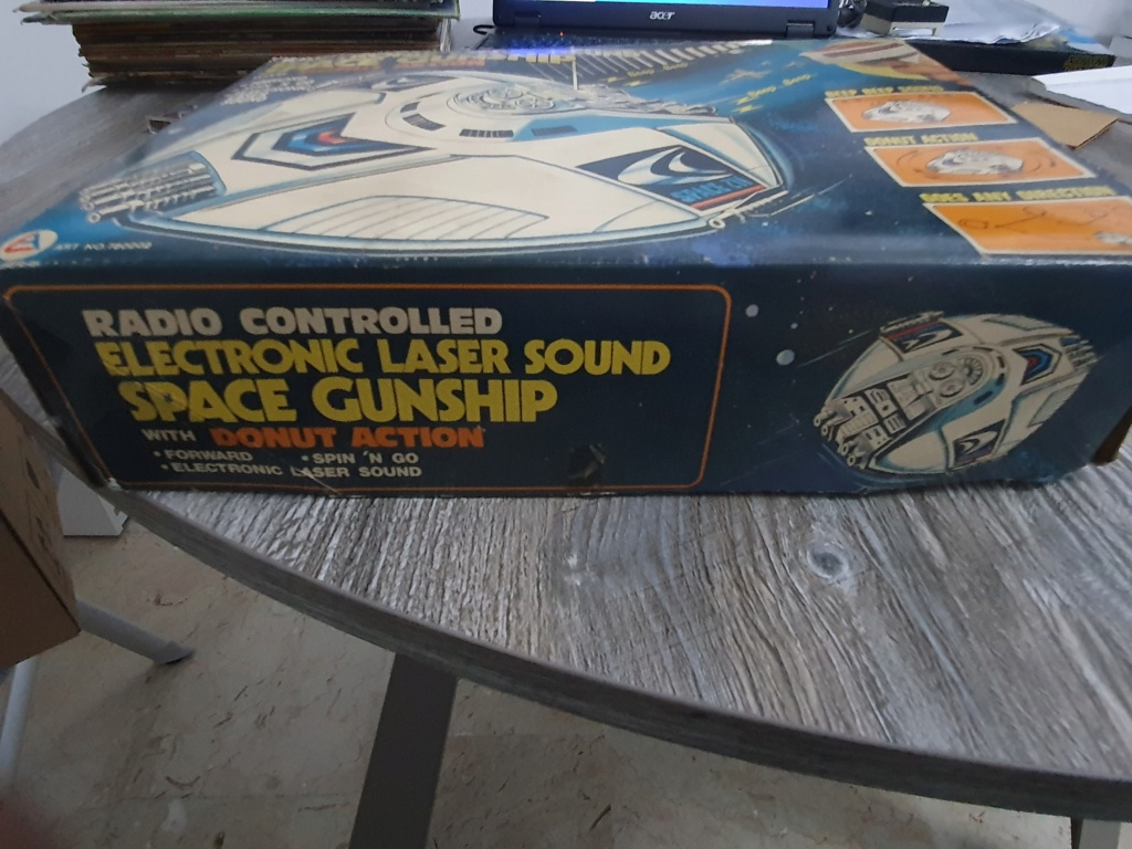 Electronic laser sound space gunship radio controlled Funzionante 20200121