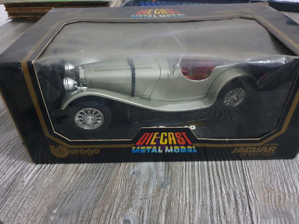 BURAGO Jaguar SS100 (1937) No.3006 20200134