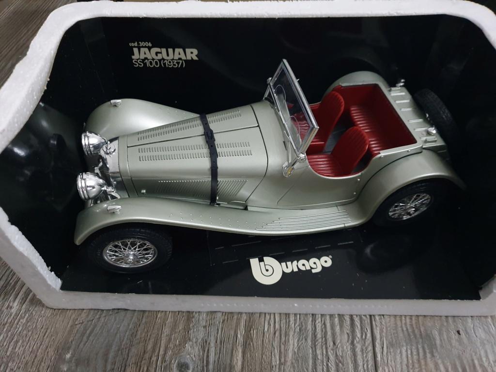 BURAGO Jaguar SS100 (1937) No.3006 20200136