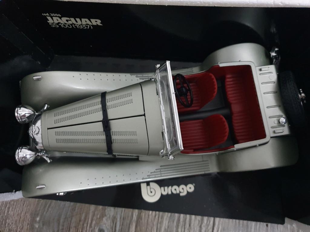 BURAGO Jaguar SS100 (1937) No.3006 20200139