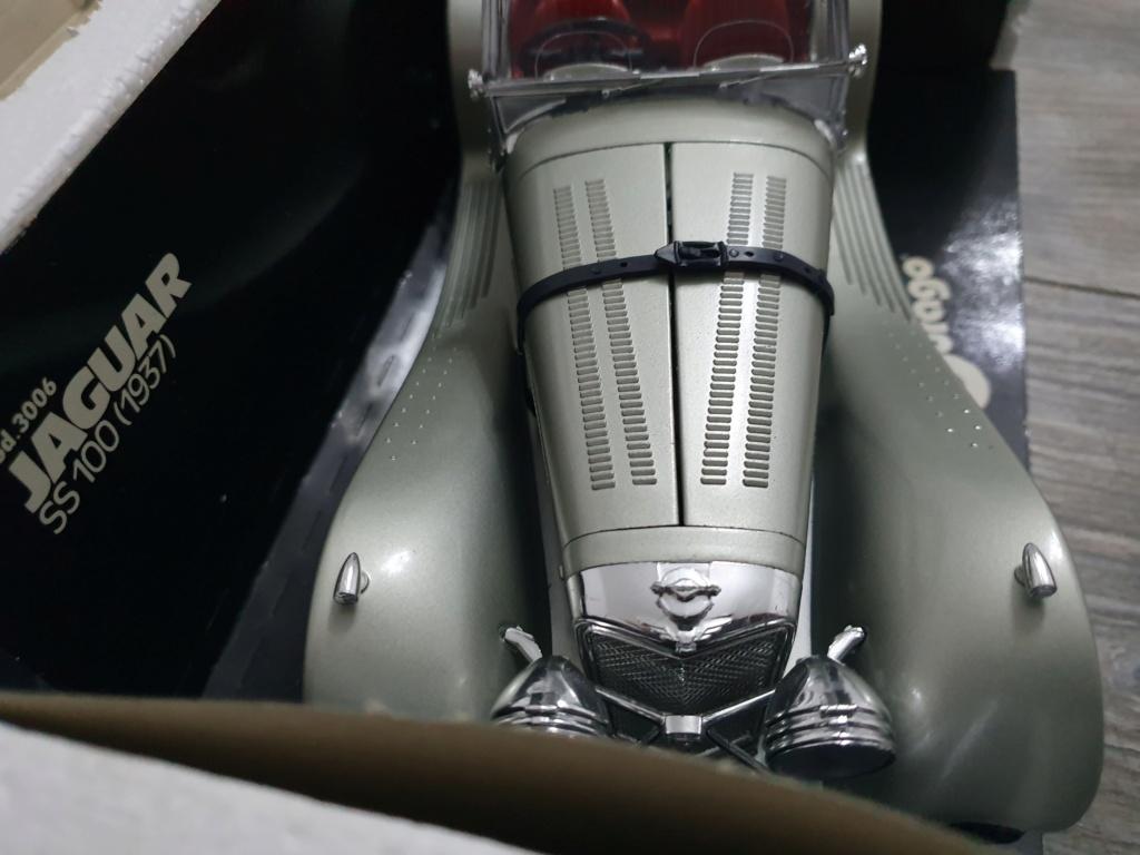 BURAGO Jaguar SS100 (1937) No.3006 20200140