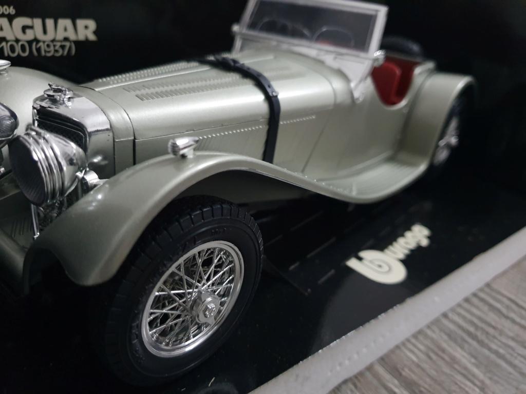 BURAGO Jaguar SS100 (1937) No.3006 20200142