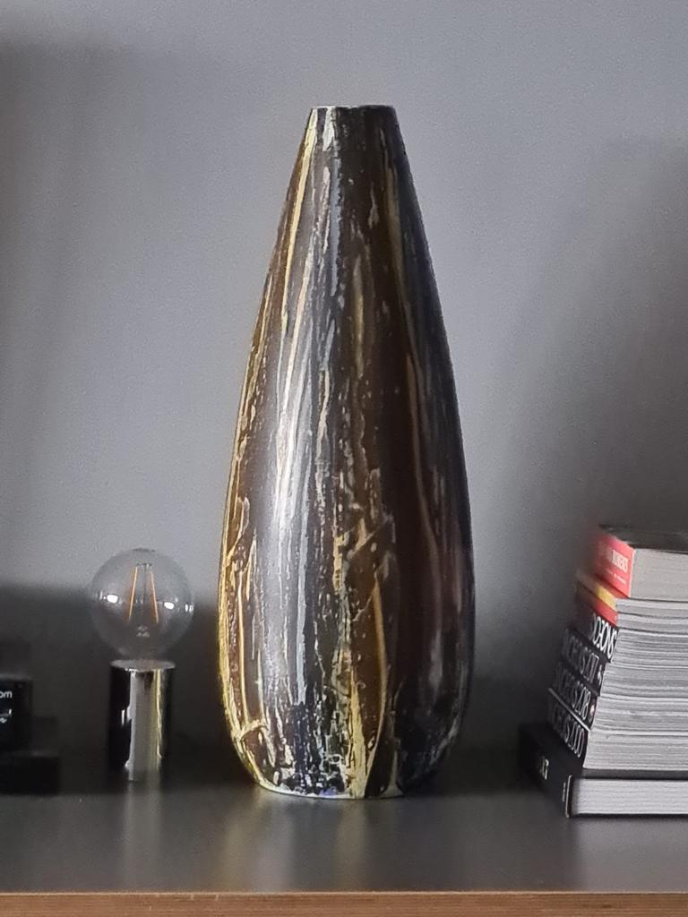 Colourful vase - Yugoslavia?  Vaas210