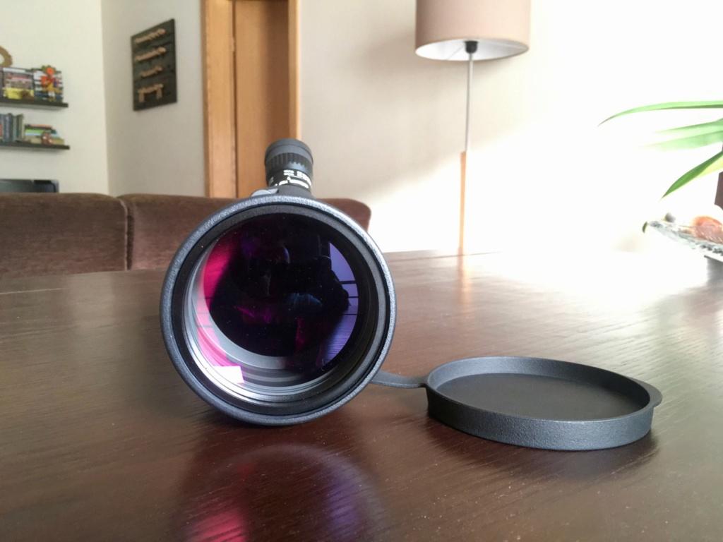 Vendo telescópio de campo OPTICRON (corpo ED + ocular zoom HDF + capa WP) Telesc22