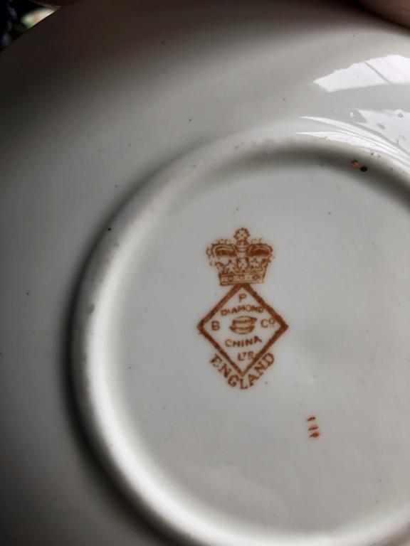 The Blyth Porcelain Co, Longton, Staffordshire, Pattern? Dc503210