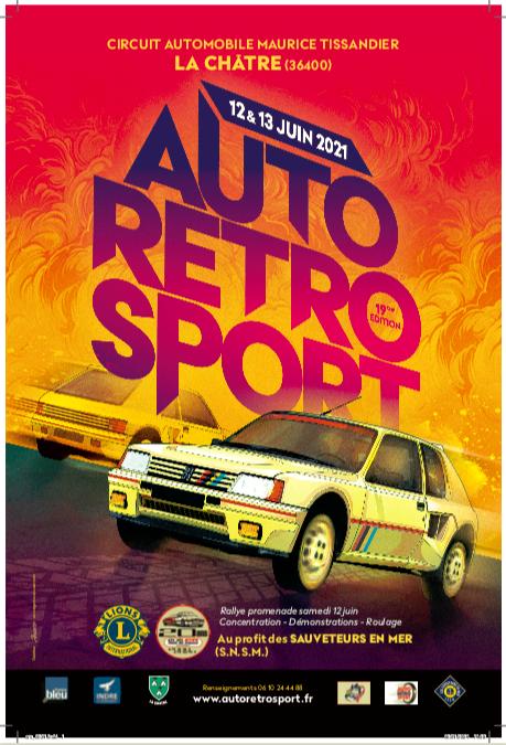 [36] La Châtre - AutoRétro Sport - 12 et 13 juin 2021 Affich10