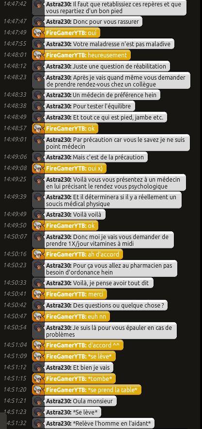[C.H.U] Rapport d'action RP de Astra230 Fire310