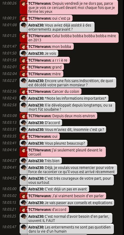 [C.H.U] Rapport d'action RP de Astra230 Herwan11