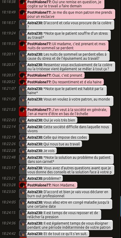 [C.H.U] Rapport d'action RP de Astra230 Post211