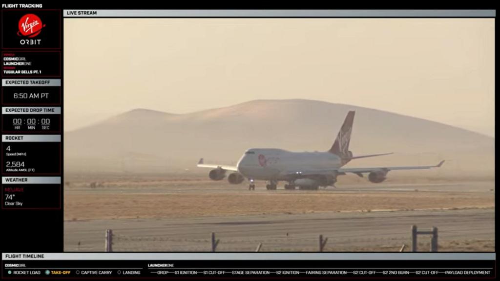 [Virgin Orbit] LauncherOne (mission Tubular Bells part 1) - 30.06.2021 74710