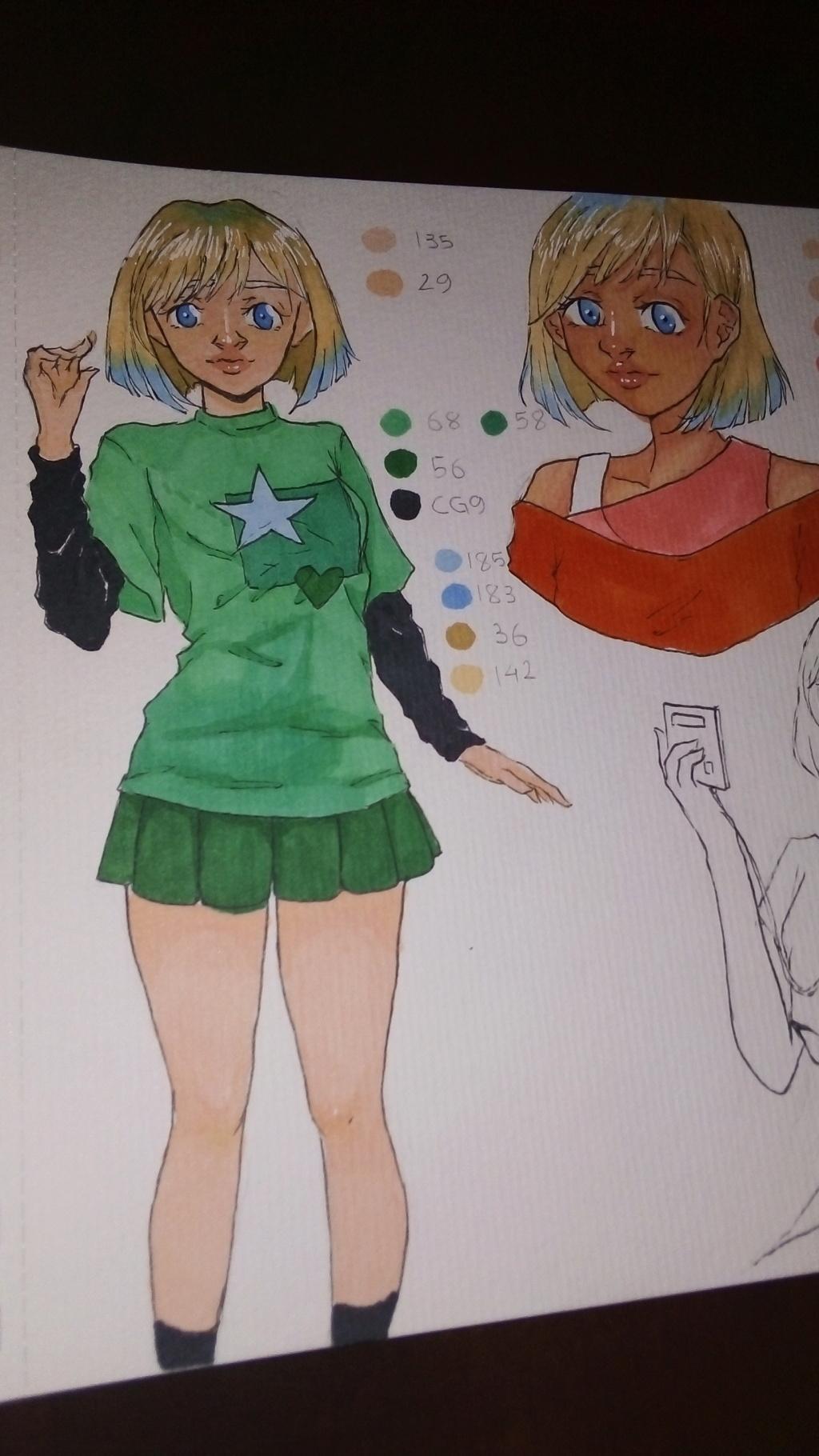 Alcuni sketch o roba ho disegnato di recente  Img-2011