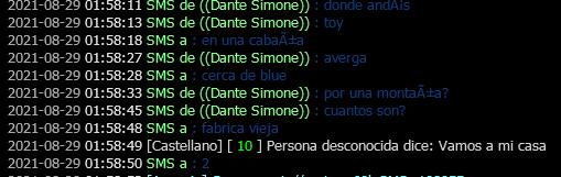 Reporte hacia Dante Simone, Leandro Basualdo, Lucas Lombardi, Mati Espinoza - DM - NRE - NRH Supues11