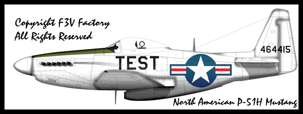 North American P-51H Mustang P-51ht10