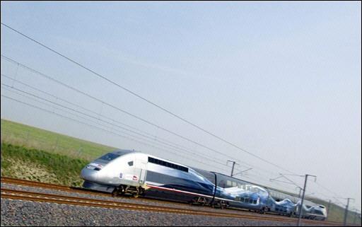 Le TGV  pulvérise son record du monde de vitesse: 574.8 km/h Tgv11