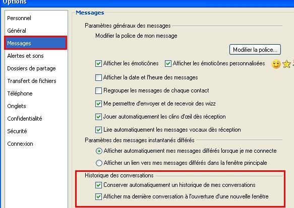 Astuces diverses pour MSN Olalal12