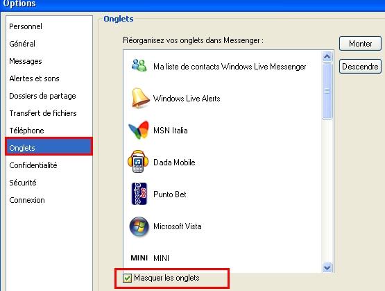 Astuces diverses pour MSN Oulala11