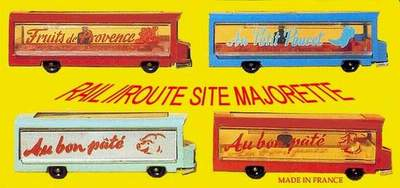 RAIL ROUTE SITE MAJORETTE