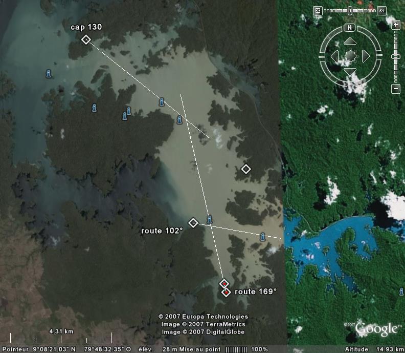Canal de Panama navigation Lac Gatun Alignements (Terminé) - Page 2 Gatun10