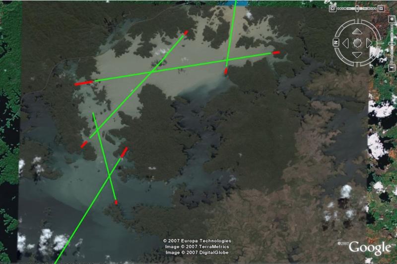 Canal de Panama navigation Lac Gatun Alignements (Terminé) - Page 2 Routep10
