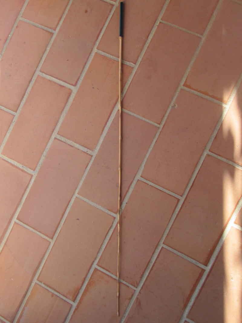 canne spinning en bambou faite par un ami Img_0107